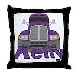 Trucker Kelly Throw Pillow