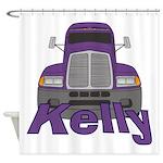 Trucker Kelly Shower Curtain