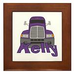 Trucker Kelly Framed Tile