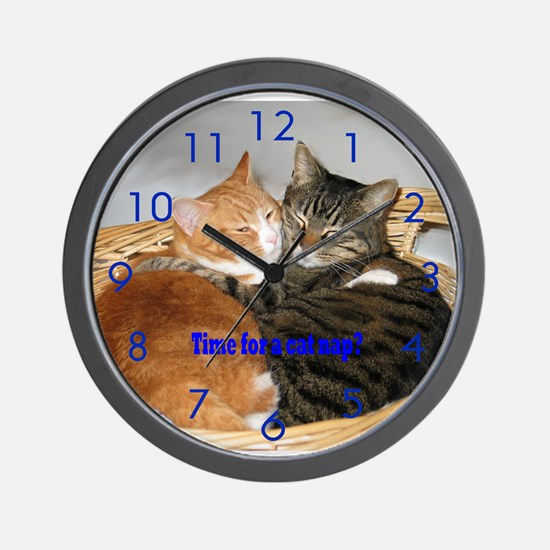 Cat Nap Clock