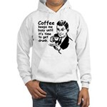 Coffee Keeps Me Busy Hooded Sweatshirt
