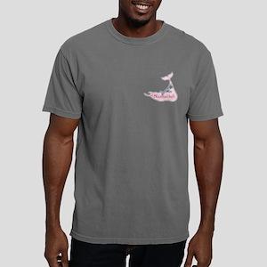 Preppy Pink Stripe Nantu Mens Comfort Colors Shirt