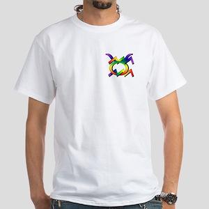 Aquarius & Taurus GLBT White T-Shirt