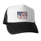 Born on 4th of july Trucker Hats