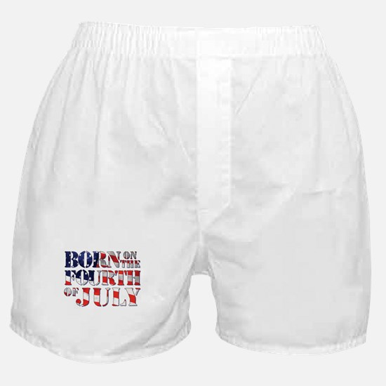 Cute Fourth of july Boxer Shorts
