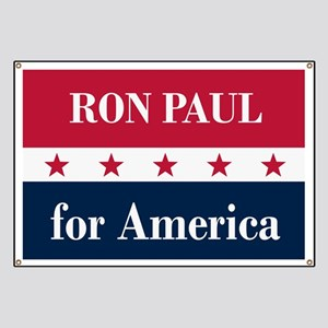 Ron Paul for America Banner