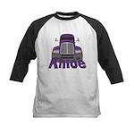 Trucker Khloe Kids Baseball Jersey