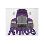 Trucker Khloe Throw Blanket