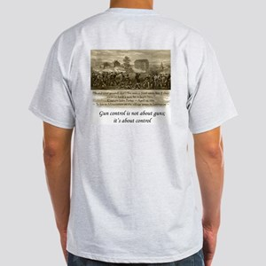 It's NOT about guns... Ash Grey T-Shirt