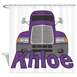 Trucker Khloe Shower Curtain