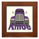 Trucker Khloe Framed Tile