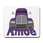 Trucker Khloe Mousepad