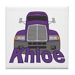 Trucker Khloe Tile Coaster
