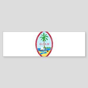 Guam Coat Of Arms Sticker (Bumper)