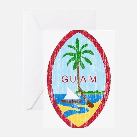 Guam Coat Of Arms Greeting Card