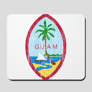 Guam Coat Of Arms Mousepad