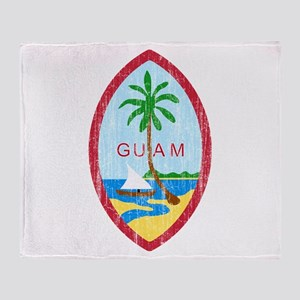 Guam Coat Of Arms Throw Blanket