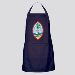 Guam Coat Of Arms Apron (dark)