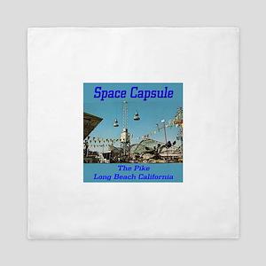 Space Capsule Queen Duvet