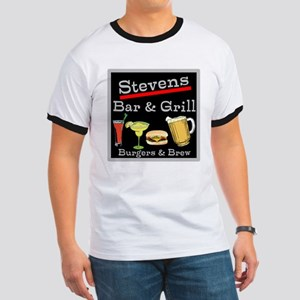 Personalized Bar and Grill Ringer T