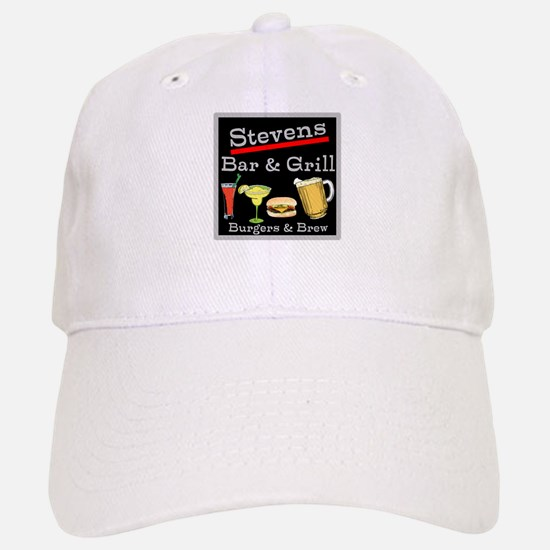 Personalized Bar and Grill Baseball Baseball Cap