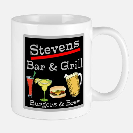 Personalized Bar and Grill Mug
