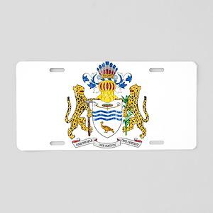 Guyana Coat Of Arms Aluminum License Plate