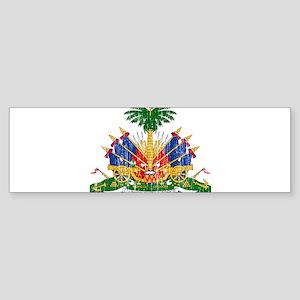 Haiti Coat Of Arms Sticker (Bumper)