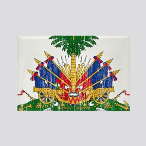 Haiti Coat Of Arms Rectangle Magnet