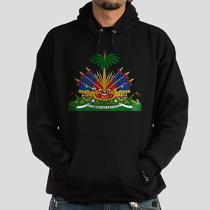 Haiti Coat Of Arms Hoodie (dark)