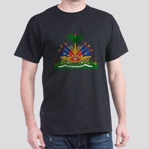 Haiti Coat Of Arms Dark T-Shirt