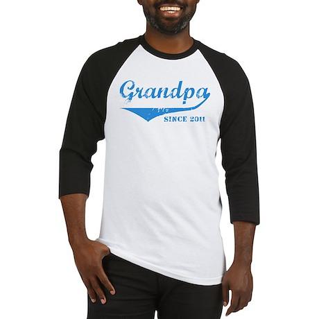 Grandpa Since 2011 Baseball Jersey