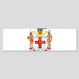 Jamaica Coat Of Arms Sticker (Bumper)