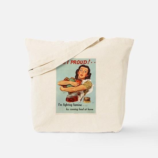 AM I PROUD! 1946 Tote Bag