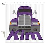 Trucker Kim Shower Curtain