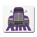 Trucker Kim Mousepad