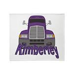 Trucker Kimberley Throw Blanket