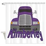 Trucker Kimberley Shower Curtain