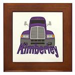 Trucker Kimberley Framed Tile