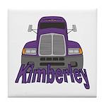 Trucker Kimberley Tile Coaster