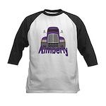 Trucker Kimberly Kids Baseball Jersey