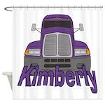 Trucker Kimberly Shower Curtain