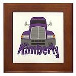 Trucker Kimberly Framed Tile