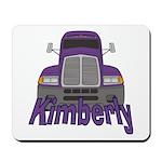 Trucker Kimberly Mousepad