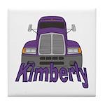 Trucker Kimberly Tile Coaster