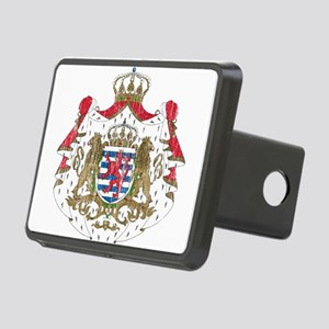 Luxembourg Coat Of Arms Rectangular Hitch Cover