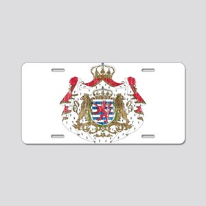 Luxembourg Coat Of Arms Aluminum License Plate