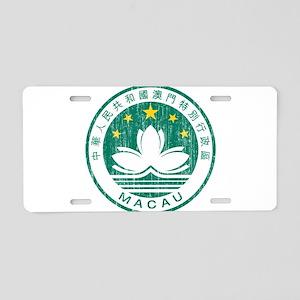 Macau Coat Of Arms Aluminum License Plate