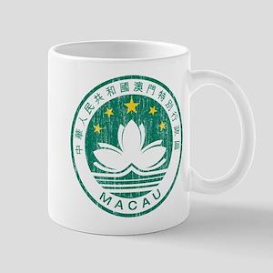 Macau Coat Of Arms Mug