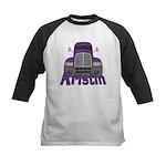 Trucker Kristin Kids Baseball Jersey